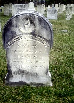 Harriet E <I>Gardner</I> Boyce