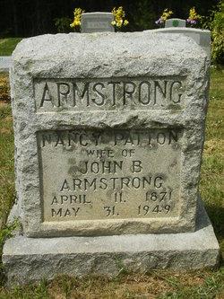 Nancy Elizabeth <I>Patton</I> Armstrong