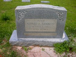 Alonzo A Sandifer 1887 1974