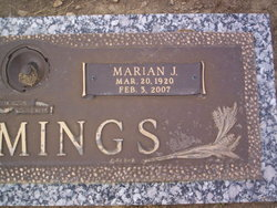 Marian J <I>Smoker</I> Cummings
