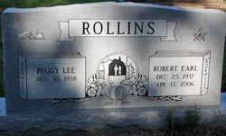 Peggy Frances <I>Lee</I> Rollins