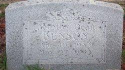 Dorothy Dean Benson