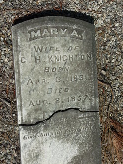 Mary Ann <I>Brown</I> Knighton