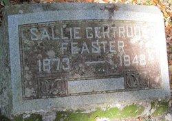 Sallie Gertude <I>Mixson</I> Feaster