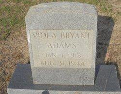 Viola <I>Bryant</I> Adams