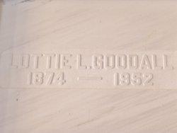 Lottie Lavina <I>Mattoon</I> Goodall