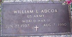 William L Adcox