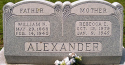 Rebecca Ellen <I>Clendennen</I> Alexander