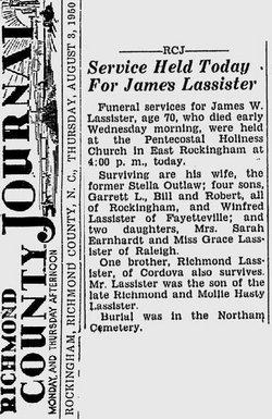 James Washington Lassiter