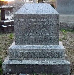 Rachel <I>Jansen</I> Hardenbergh
