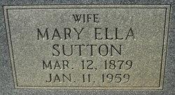 Mary Ella <I>Sutton</I> Hargett
