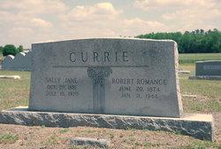 Robert Romance Currie