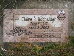 Elaine P. Bachelder