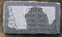 Lonnie Dean Weight