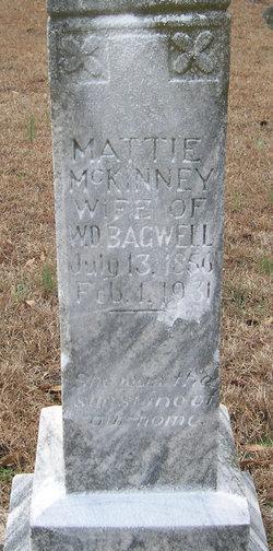 Mattie <I>McKinney</I> Bagwell