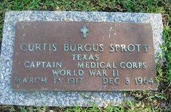 Dr Curtis Burgus Sprott