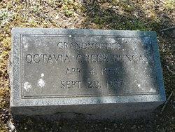 Octavia <I>Cheek</I> Duncan