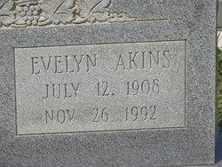 Evelyn <I>Akins</I> Allen
