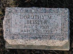 Dorothy M. <I>McCue</I> Beisler