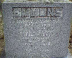 Jane E <I>Osgood</I> Emmons