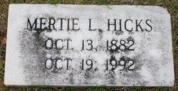 Mertie L. Hicks