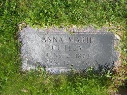 Anna Marie <I>Schlicker</I> Cutler