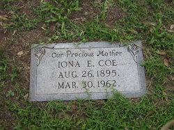 Iona Evelyn <I>Hicks</I> Coe