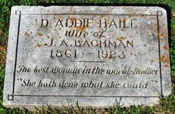 Addie <I>Haile</I> Bachman