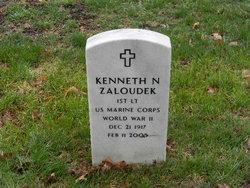 1LT Kenneth Norman Zaloudek