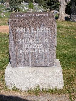 Annie Elizabeth <I>Birch</I> Bowers