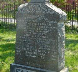 "Anne ""Annie"" <I>Cassidy</I> Fannan"