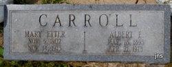 Albert E Carroll