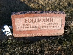 Mary P <I>Wickey</I> Follmann