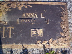 Anna L <I>Anthony</I> Pecht