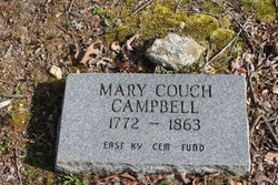 "Mary ""Polly"" <I>Couch</I> Campbell"