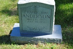 Charlie Lou Anderson