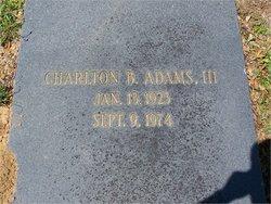 Charlton Berrien Adams, III
