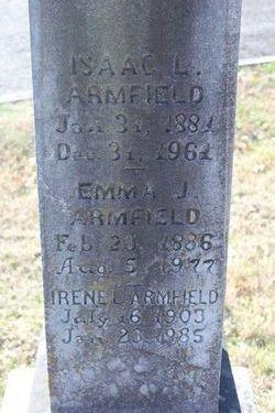 Emma Adeline <I>Jackson</I> Armfield