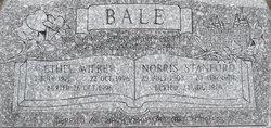 Ethel <I>Wilkey</I> Bale
