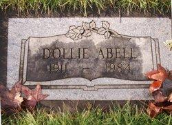 """Emma Frances """"Dollie"""" Abell"""