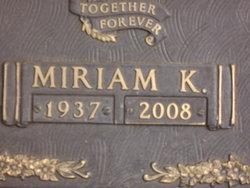 """Miriam """"Mickie"""" <I>Keels</I> Bibb"""