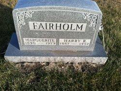 Harry Rudrow Fairholm