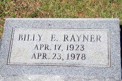 Billy Edward Rayner
