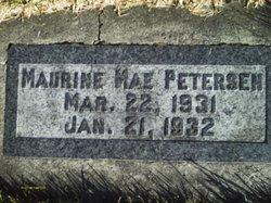 Maurine Mae Petersen