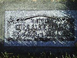 Cora Alice <I>Whitesides</I> Adams