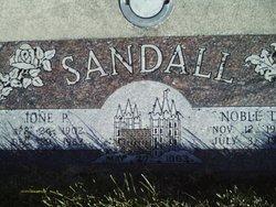 Ione Blood <I>Phillips</I> Sandall