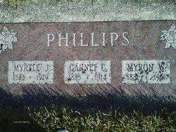 Clara Garnet <I>Chamberlin</I> Phillips