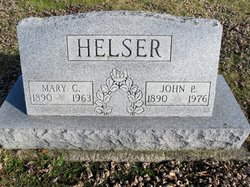 Mary C. <I>Sheller</I> Helser