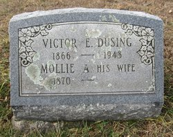 Mollie A. <I>Hoffman</I> Dusing