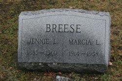 Jennie Lind <I>Payne</I> Breese